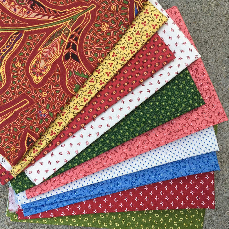 Manzanita Grove Fabrics by Barbara Eikmeier