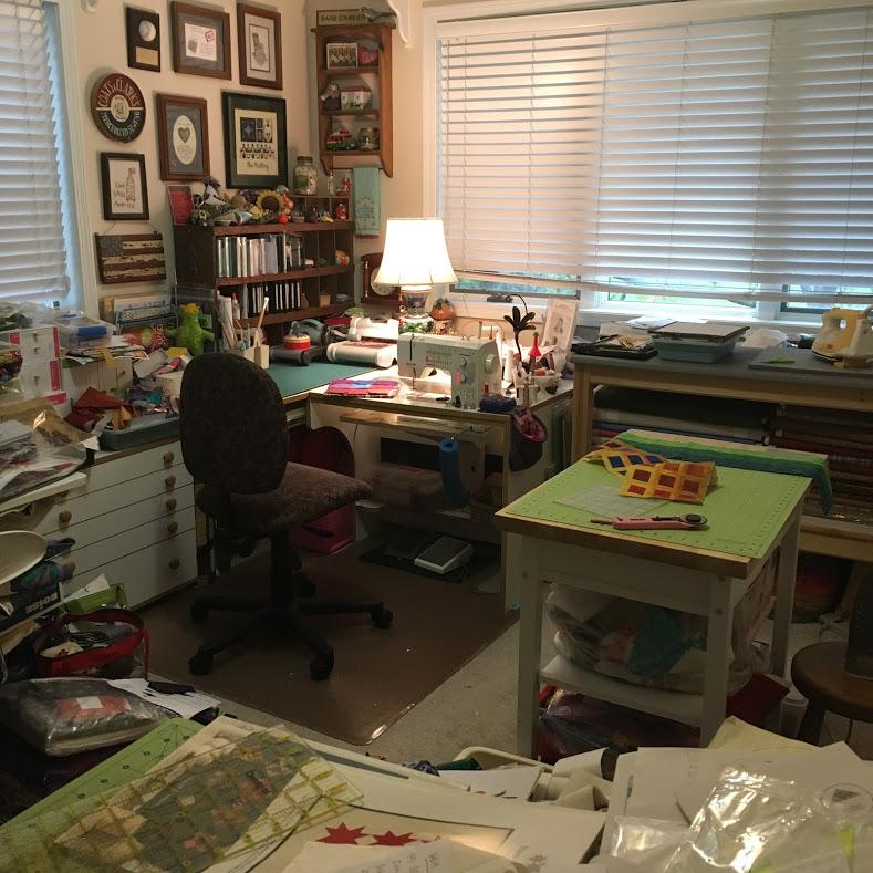 Barbara's sewing room