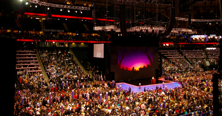 2008 Republican National Convention at the Xcel Energy Center in Saint Paul, Minnesota - CC 2.0
