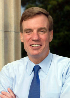 Sen. Mark Warner, D-Virginia, one of six senators who are urging President Barack Obama to raise the issue at the G20 summit this weekend.