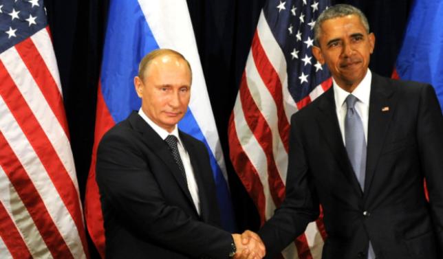 Putin meets with U.S. President Barack Obama in New York City, September 2015 // CC 4.0 Kremlin.ru