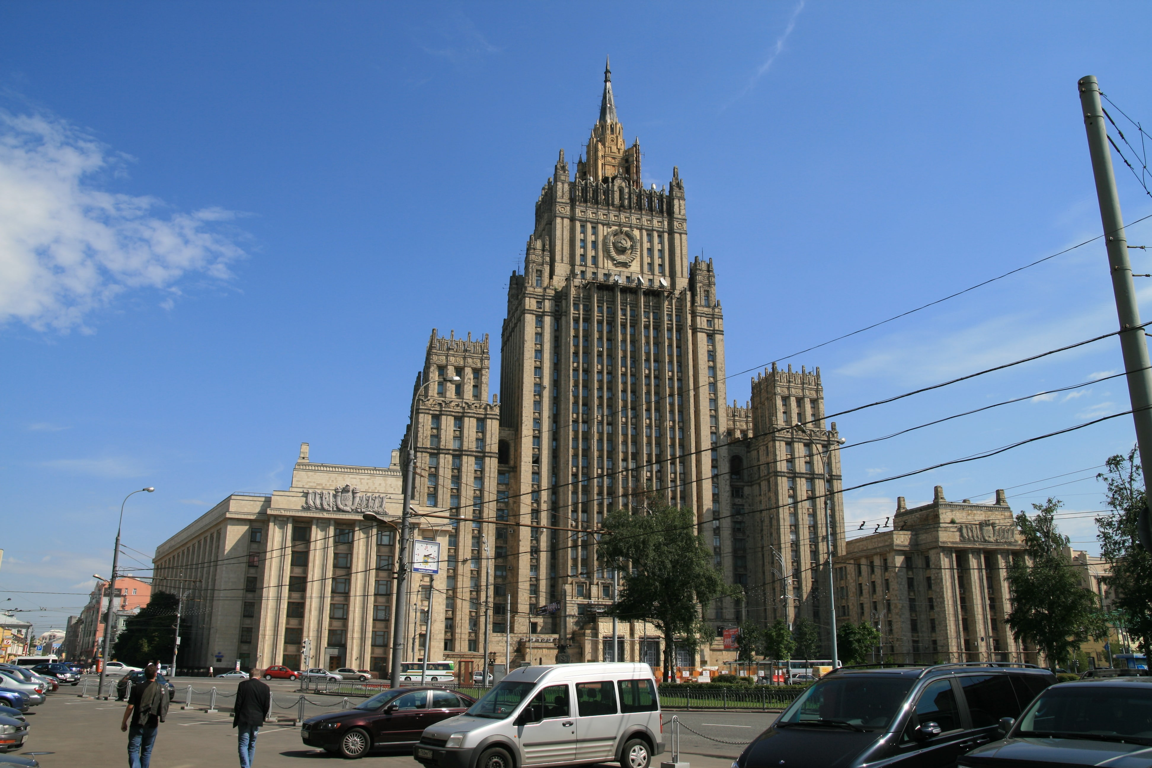 No one actually hacked the Russian Foreign Ministry ...