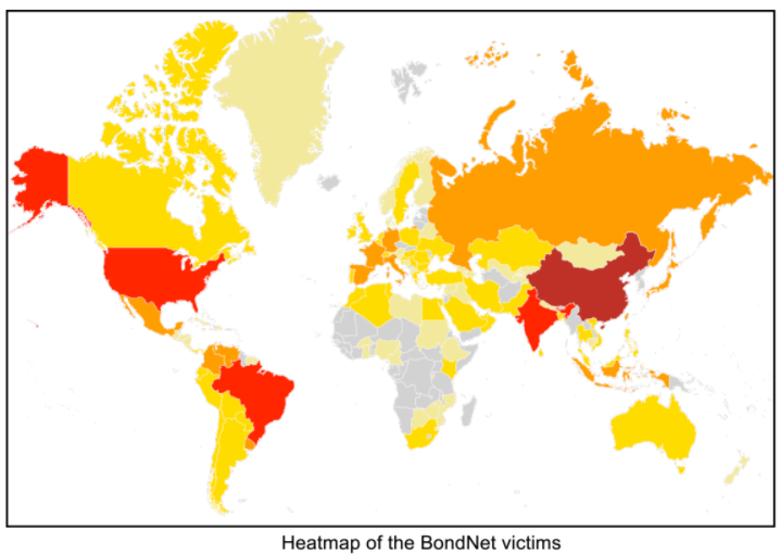 Monero Mining Botnet Earns Suspected Chinese Hacker Per - Map of us chinese hacking victims