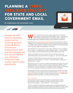CyberScoop report on cyber resilience strategies for state and local government