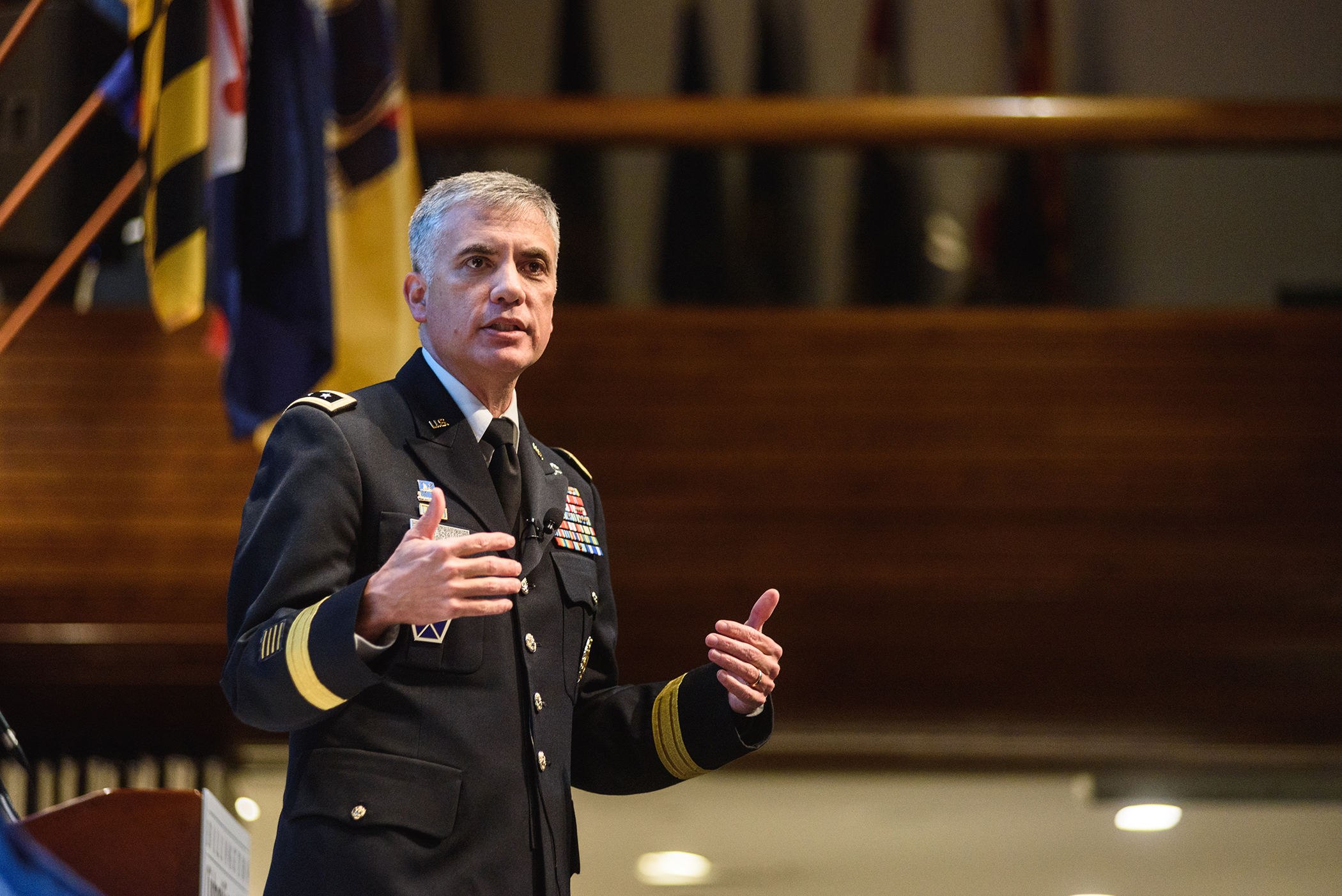 NSA's Gen. Nakasone ranks influence operations as a top concern