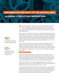 CyberScoop report on security and development operations (devops)