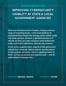 CyberScoop and StateScoop report on cybersecurity visibility