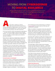 CyberScoop report on digital resilience strategies