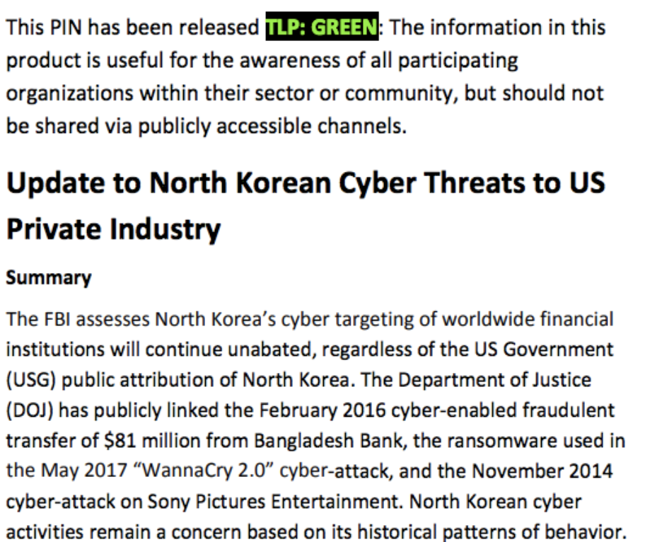 FBI to private industry: Attribution won't deter North Korean