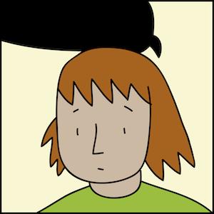 """Zuzia dostaje wiadomość od nauczycielki, pani Kowalskiej, która poczuła się dotknięta """"jej"""" postem o nudnej lekcji. Dziewczynka jest zaskoczona."""