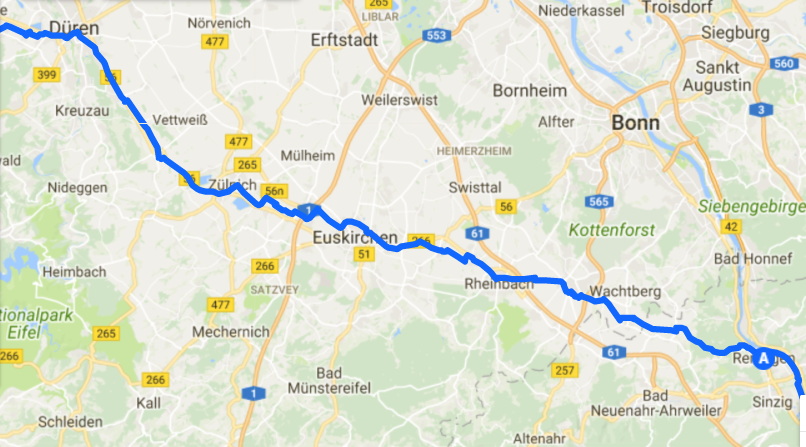 Day 9 Duren To Remagen Kripps Grampies Tour De France Cycleblaze
