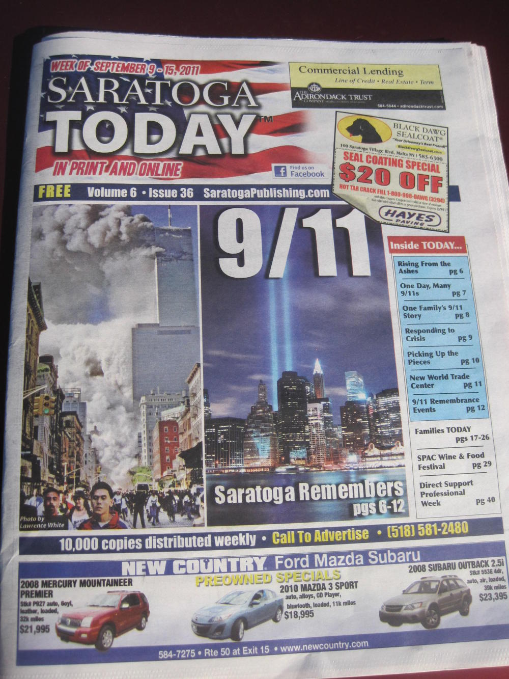 Itu0027s the tenth anniversary of 911 and