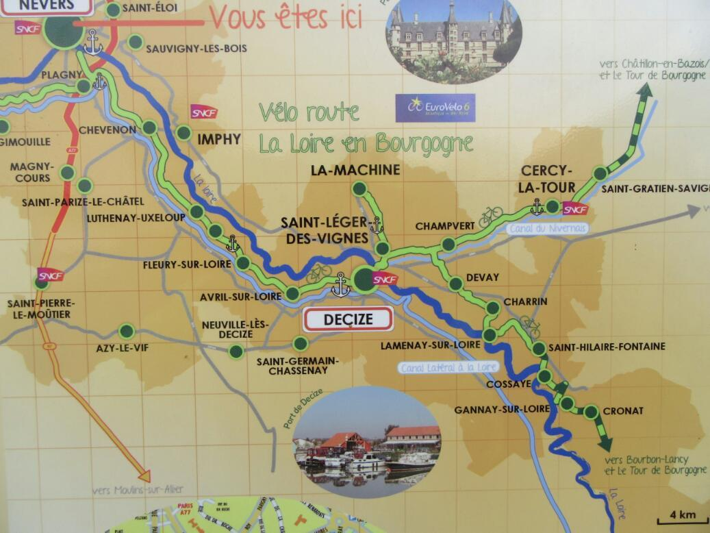 Day Nine: Nevers to Vitry Sur Loire: A Lucky Find - Grampies Go On ...