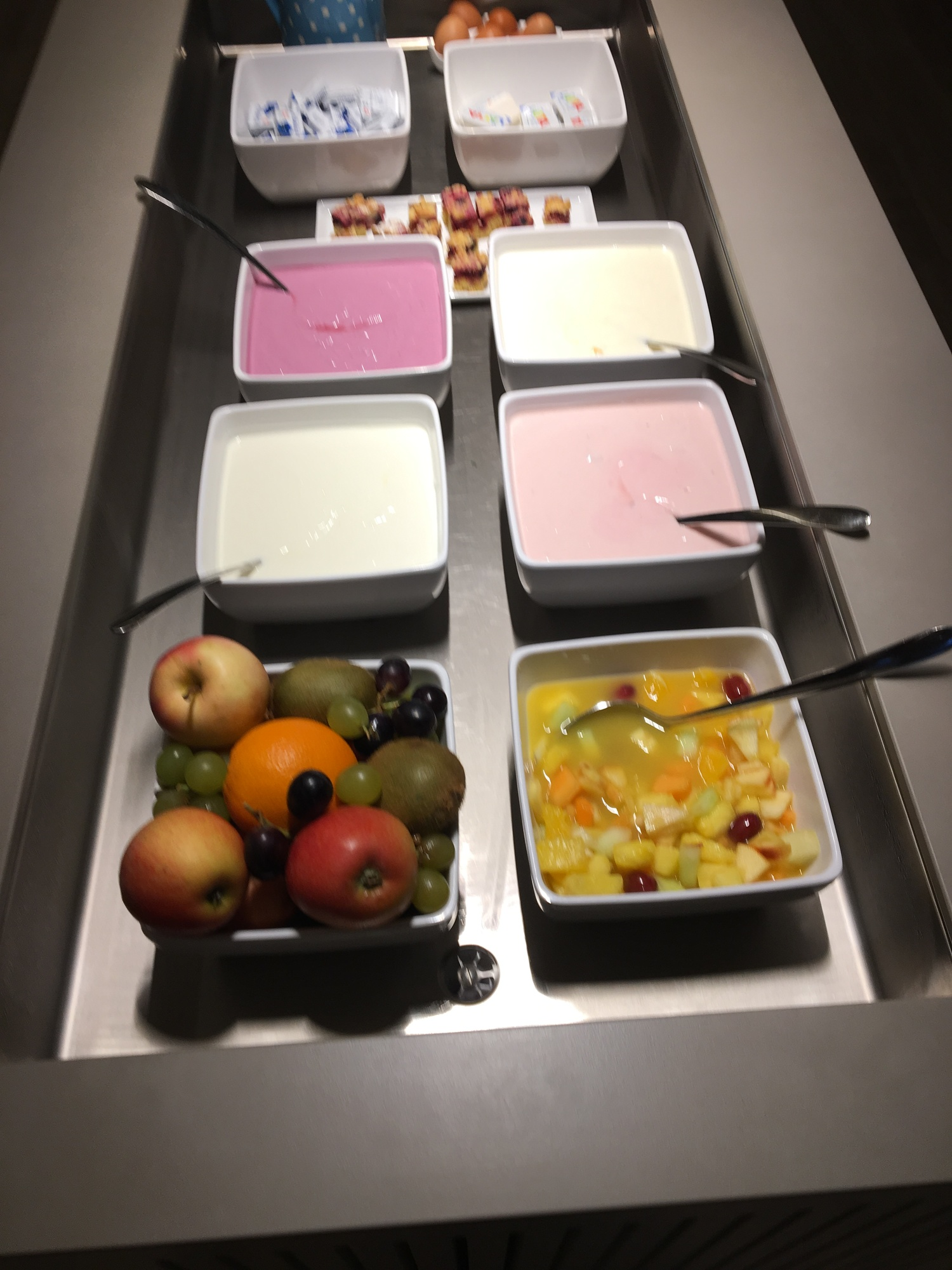 Much Yogurt And Fruit Deliciousness