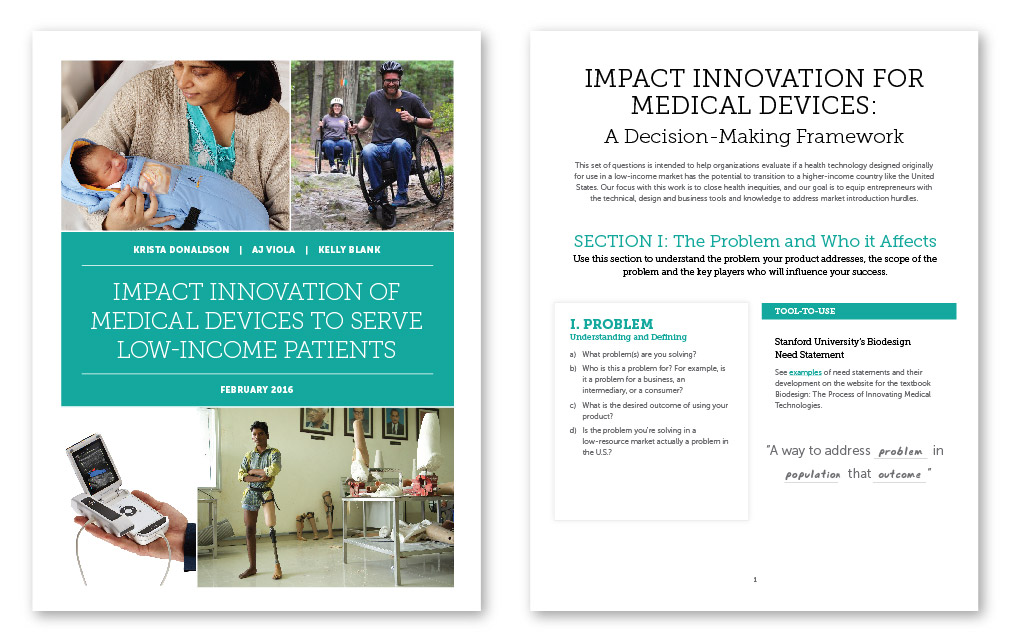 Impact Innovation: Designing Medical Products to Close