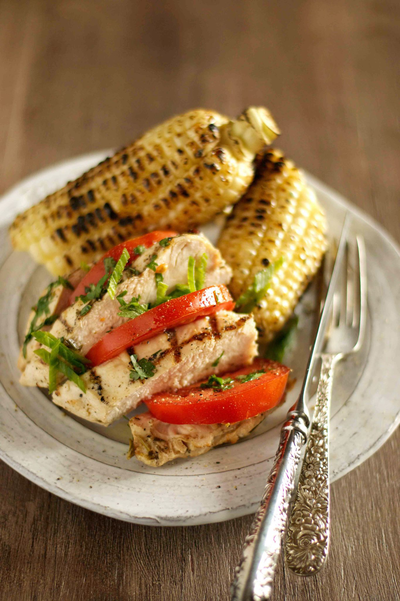 Try This Tasty Summer Recipe: Smoky Grilled Chicken with Corn