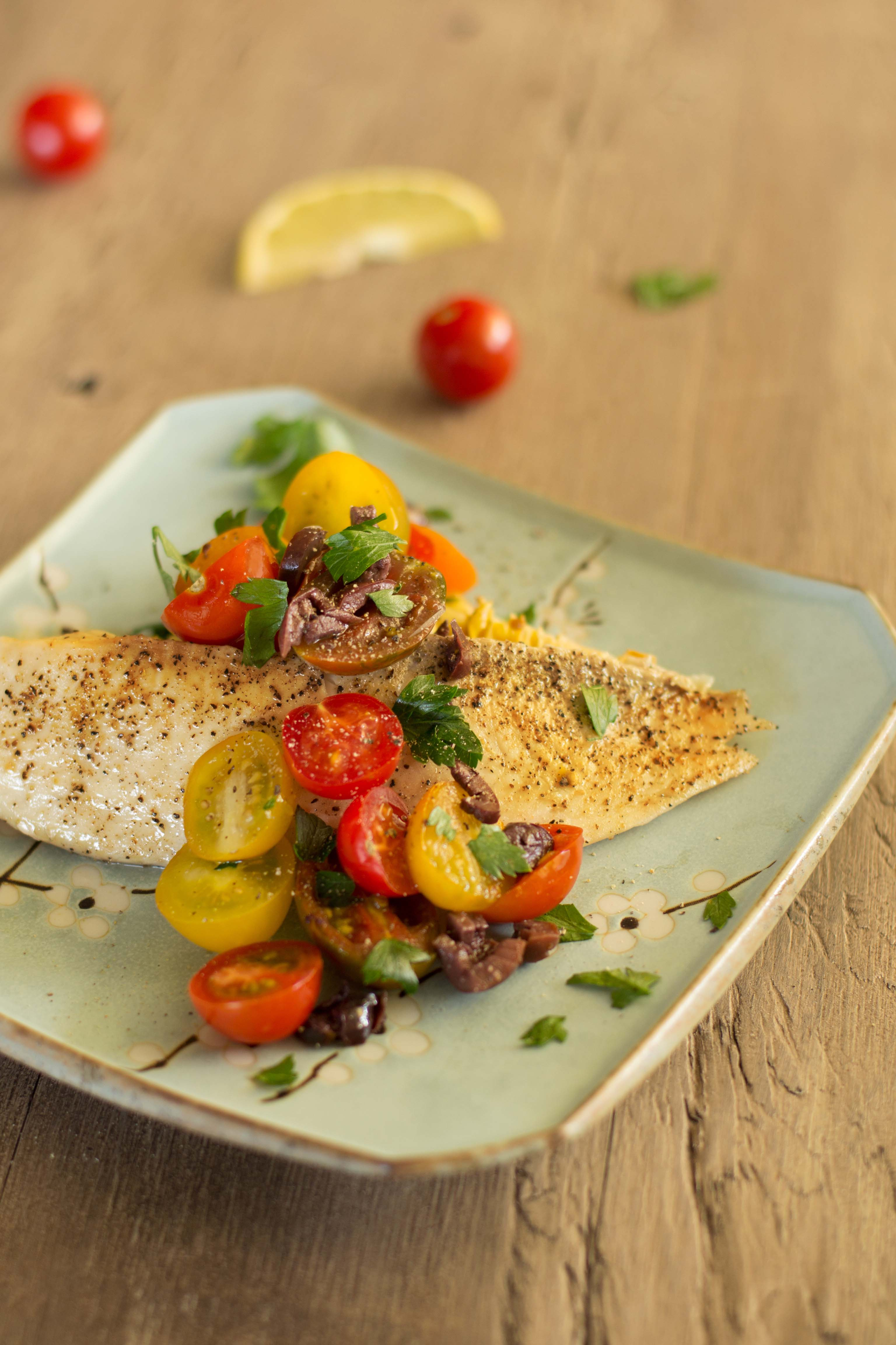 Slow-Roasted-Fish-with-Artichokes-and-Tomatoes