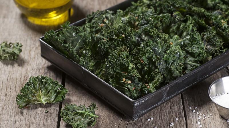 Denise's Crispy Kale
