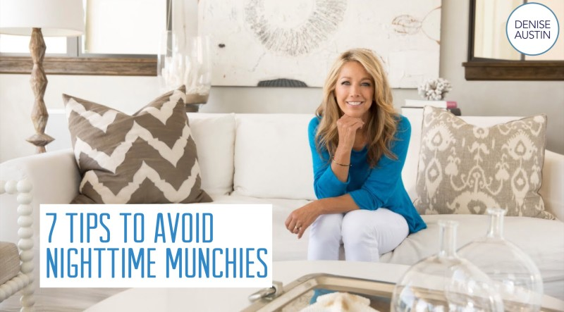 7 Tips to Avoid Nighttime Munchies