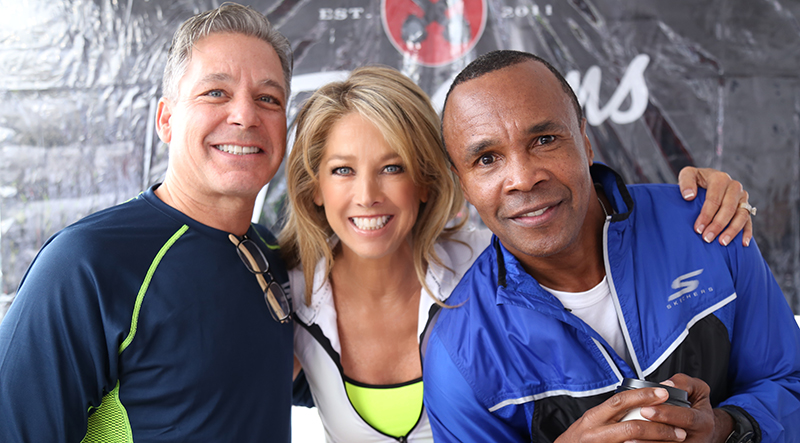 Skechers Friendship Walk - Denise Austin, Michael Greenberg, Sugar Ray Leonard