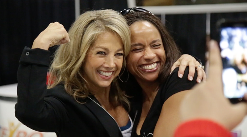 Denise Austin LA FitExpo Recap Video