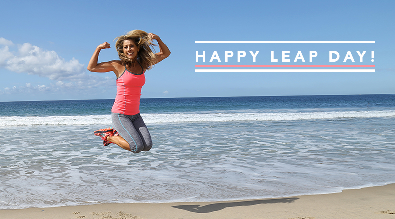 Happy Leap Day Denise Austin
