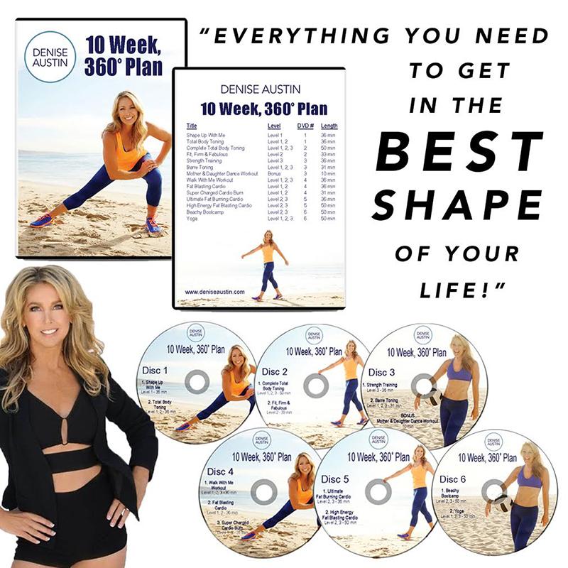 Denise Austin 10 Week Plan DVD