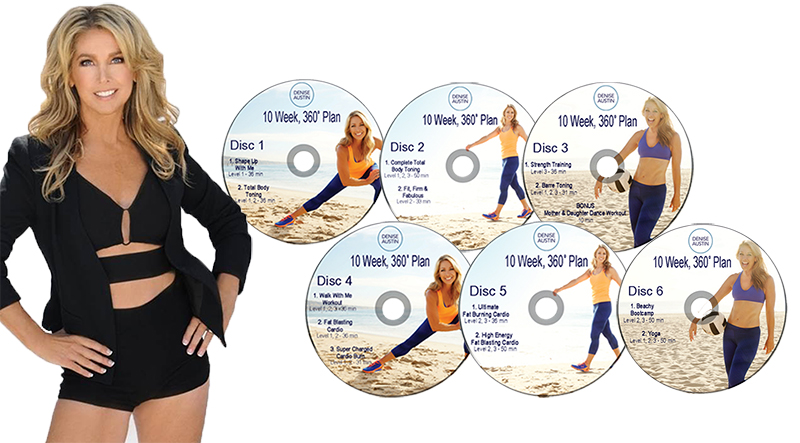 Denise Austin 10 Week Plan DVD Blog Cover