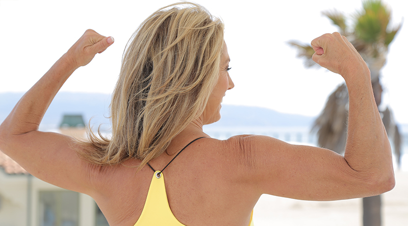 denise austin sexy arms