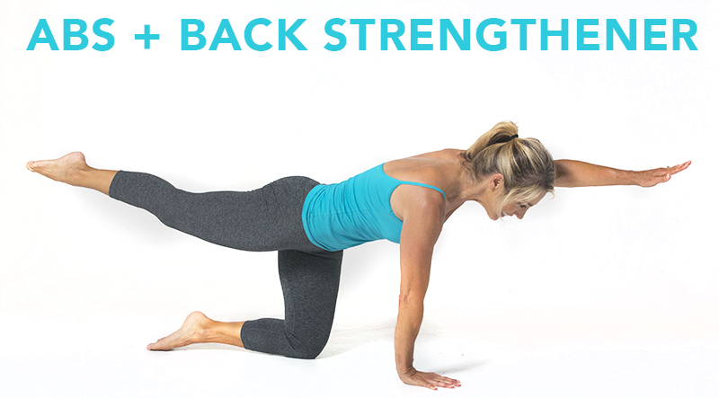 denise austin abs and back strengthener