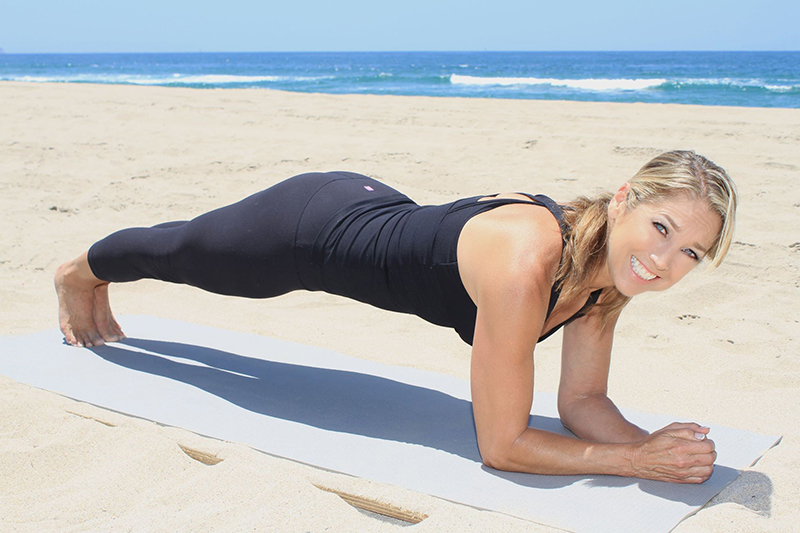denise austin plank