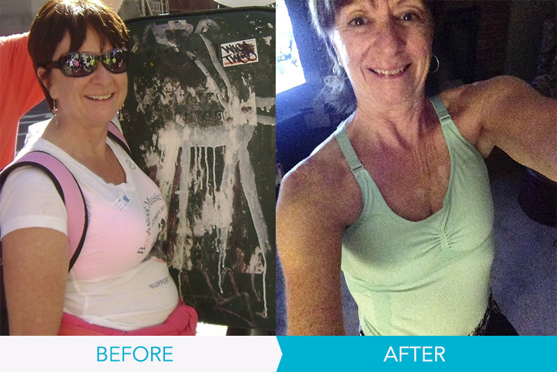 before and after of michelle tully 3 time 10 week champ of denise austin
