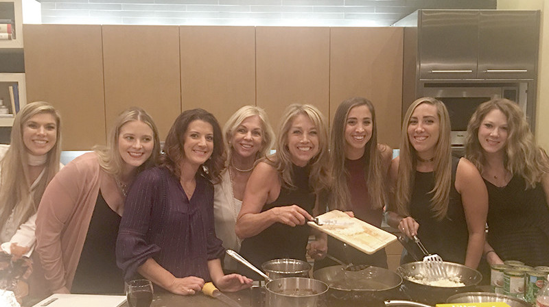 Denise Austin At Thanksgiving With Family