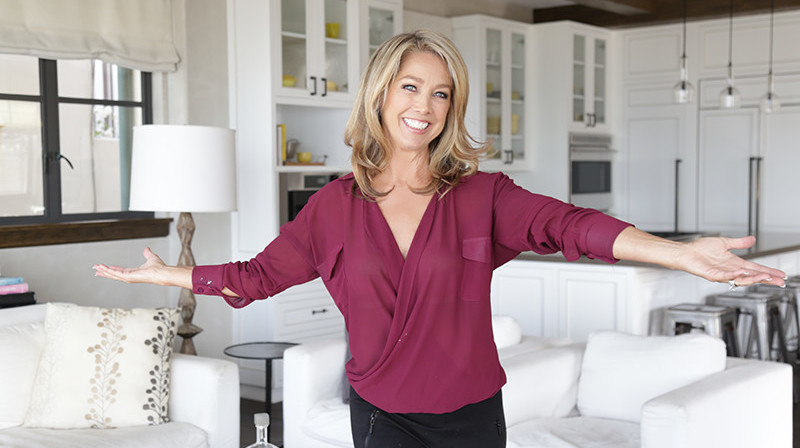 Denise Austin De-Stressed and Recharged during the Holidays