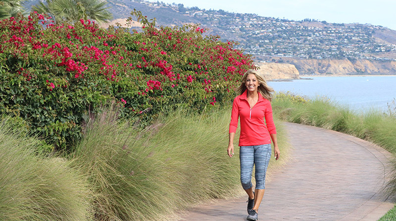 Denise Austin Walking Her Way To Wellness