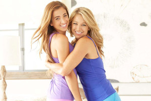 Denise Austin Recharging Her Soul By Spending Time With Her Daughter