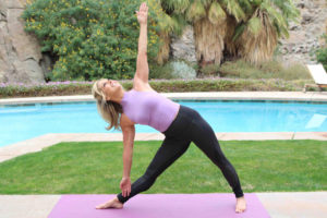 Warrior Pose and Exalted Warrior Pose, A Mini Yoga Stretch For Quick Energy with Denise Austin