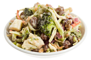 broccoli and cauliflower salad