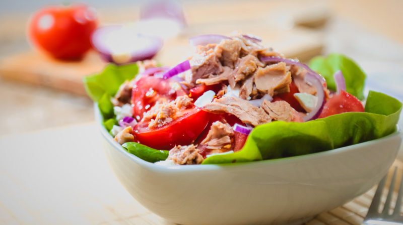 Yoga Refresh Challenge Day 3: A Quick And Healthy Salad Recipe