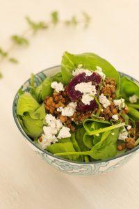 Bold Beet And Lentil Salad   Recipes   Denise Austin
