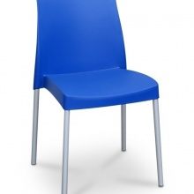 JENNY STACKING BLUE CHAIR