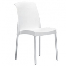 JENNY STACKING LINO (White) CHAIR