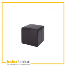 H-MARLIN PVC STOOL  - BLACK