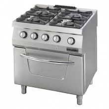 Gas Range 4 Burner with Oven (OFOG 8065 P)