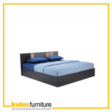 HARSH Bed 5 ft. BKBN/CMO