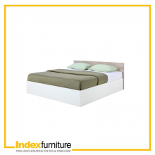 VINCE BED 5FT - NATURAL/WHITE