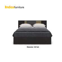 HARSH BED 4FT. BKBN/CMO
