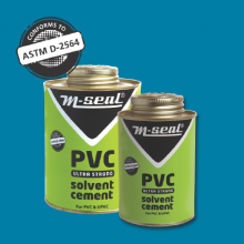M-SEAL PVC ULTRA STRONG SOLVENT CEMENT (B) 500 ML