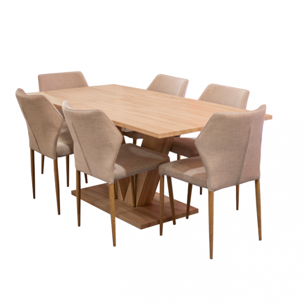 Victoria Wooden Dining Table Buy Online From Damas Express
