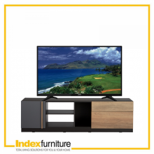 HARSH TV CABINET - CARMELO OAK